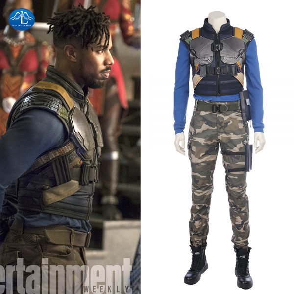 Costume Erik Killmonger Black Panther - Wakanda - Marvel